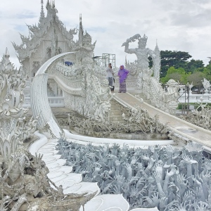 BBM TRAVELS | Chiang Rai, Thailand | White Temple